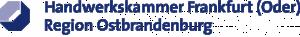Logo der Handwerkskammer Frankfurt (Oder) - Region Ostbrandenburg